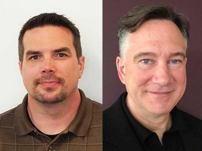 Left: Robert Davis, Right: Jim Toole