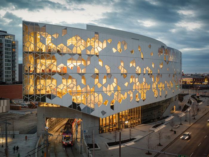 Calgary Central Library Canada Arc